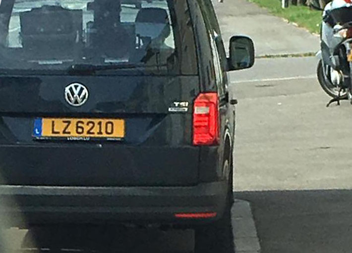 radar mobile VW Caddy LZ 6210