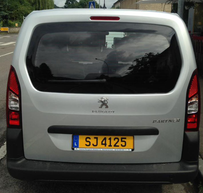 radar mobile Peugeot Partner SJ 4125