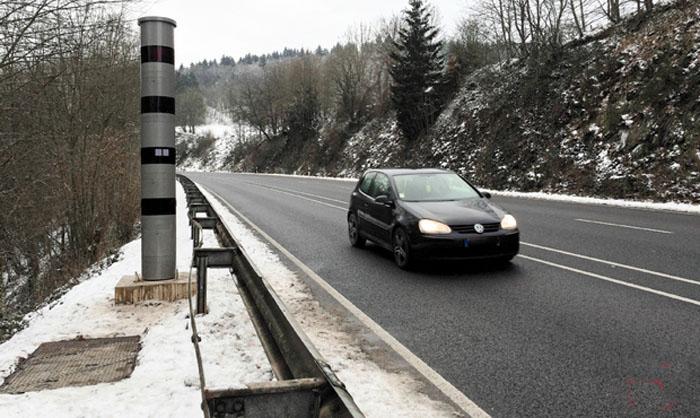 photo du radar fixe N12 Heiderscheidergrund Esch-sur-Sûre