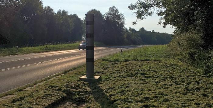 photo du radar fixe N7 Lipperscheid Bourscheid